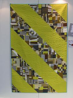 The Calico House Blog: Citron and Gray Quilt by Michael Miller