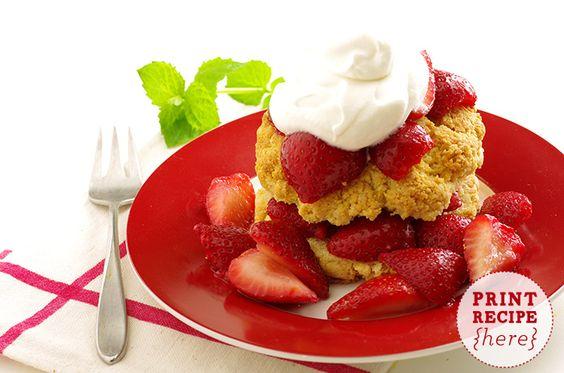 Strawberry Shortcake-Berry Berry Wonderful . Subscribe to our Newsletter for more delectables! #derkuchenladen @Der Kuchen Laden #fbgtx #fredericksburgtx