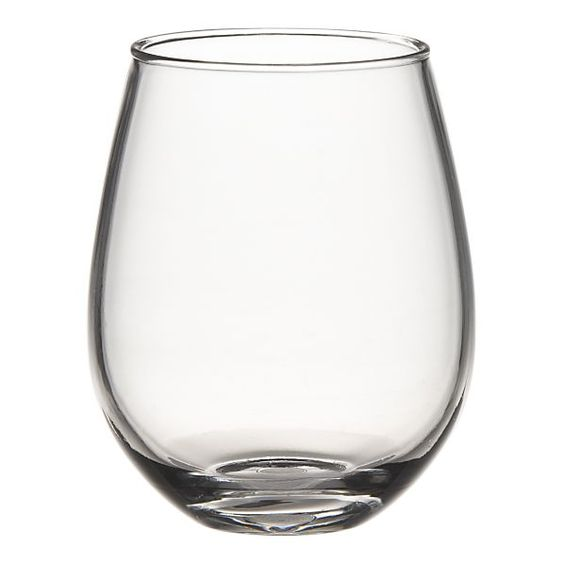 Acrylic Wine Glasses...perfect for our summer dinners
