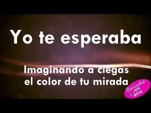 Yo Te Esperaba Alejandra Guzman Letra Youtube Alejandra Guzmán Youtube Songs