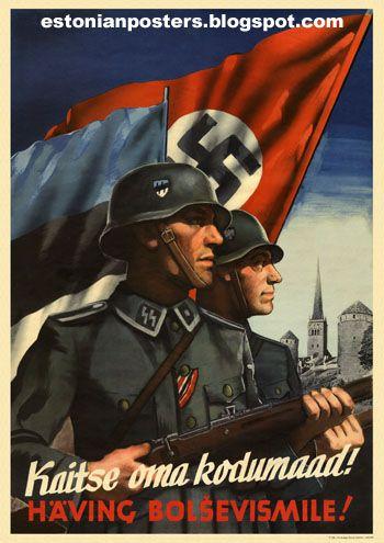Estonian Propaganda Posters