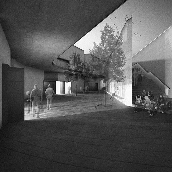 nodopfc: COEXIST. Centro multireligioso en Torre Baró, Barcelona