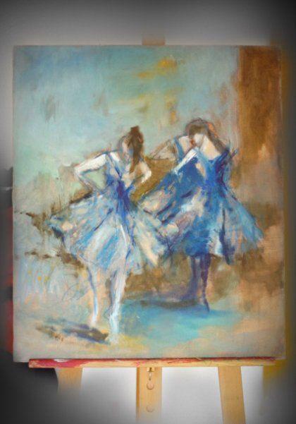 baletnice blue (proj. Leśna Pracownia)