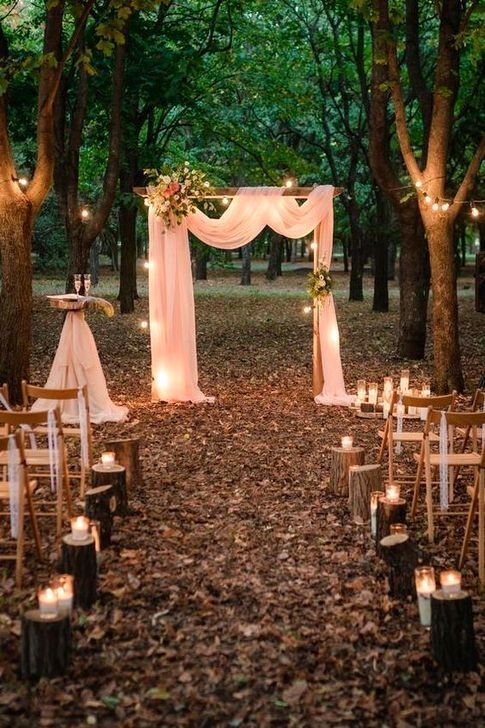 50 Outstanding Fall Outdoor Wedding Ideas On A Budget Budget