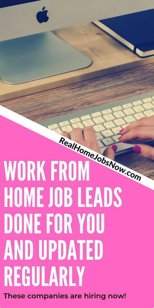Legitimate Work From Home Job Leads Hiring Now Work From Home