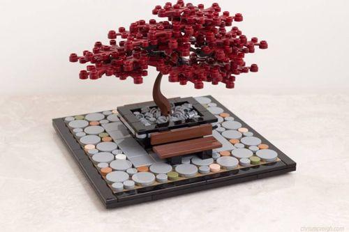 Lego Tree Tutorial Red Japanese Maple Acer Palmatum Lego Tree Lego Design Lego