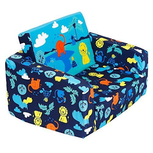 Mallbest Kids Sofas Children 039 S Sofa Bed Baby 039 S Upholstered Couch Sleepover Chair Flipout Open Recliner Kids Sofa Upholstered Couch Sofa Bed For Kids