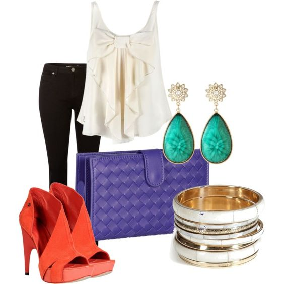 love all the pops of color.: Simply Style, Fashion Style, Colors Reminds, Pop, Me My Style, Shirt
