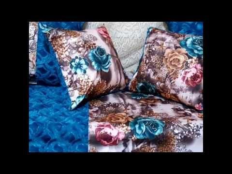 خياطة مفارش صالون بقماش الكانيش بطريقة سهلة ونتيجة روعة Youtube Throw Pillows Pillows Bed