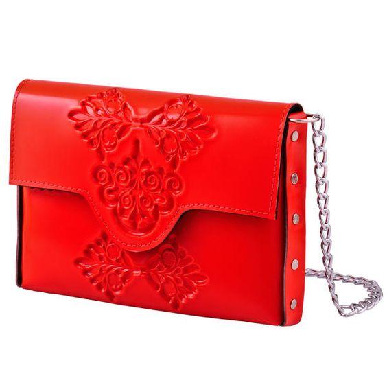 MeDusa Mini Clutch Bag - Red | MeDusa