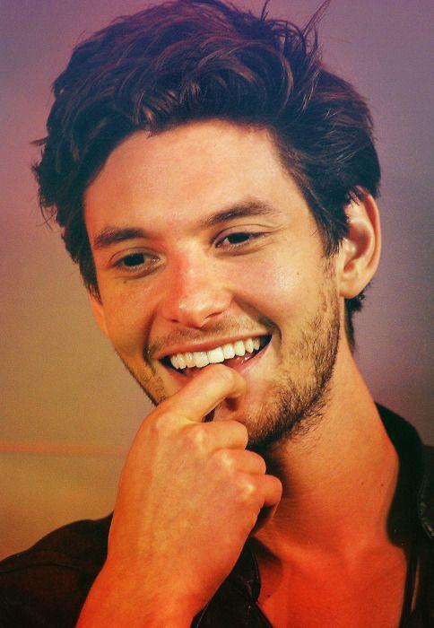 Ben Barnes that smile holy....