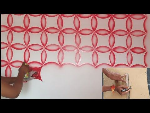 Wall Painting 3d Wall Painting On Spray Youtube 3d Wall Painting Wall Painting Wall Paint Designs