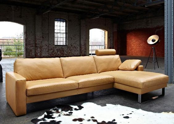 leather sofa mocca collection by kare design sofa pinterest