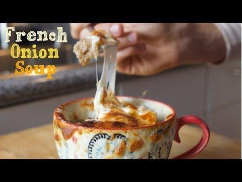 4 Ingredient French Onion SoupCollege CookingYouTube soup