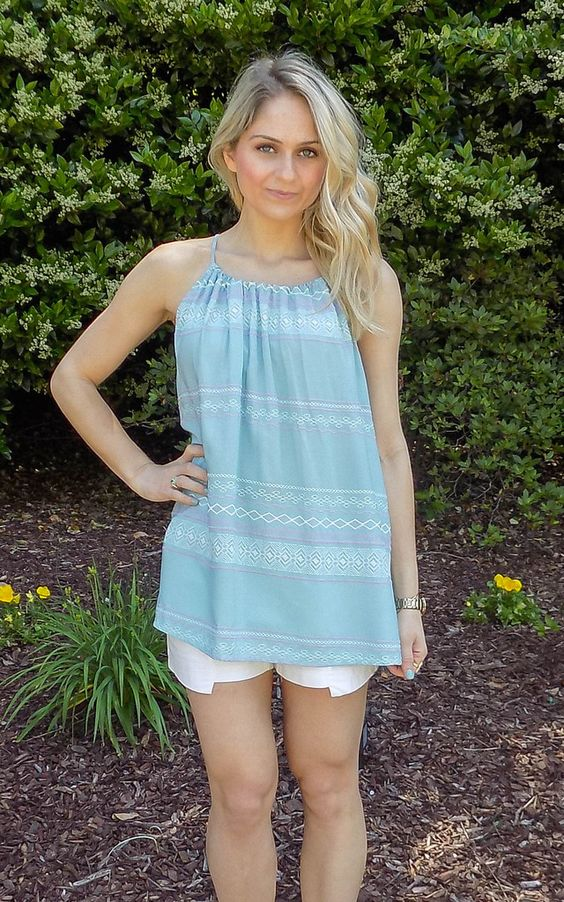 All Dolled Up Halter Top