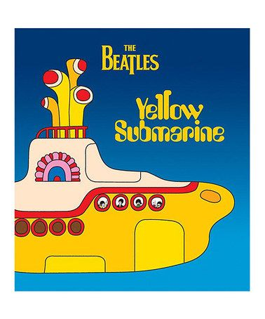 Look what I found on #zulily! The Beatles Yellow Submarine Hardcover #zulilyfinds