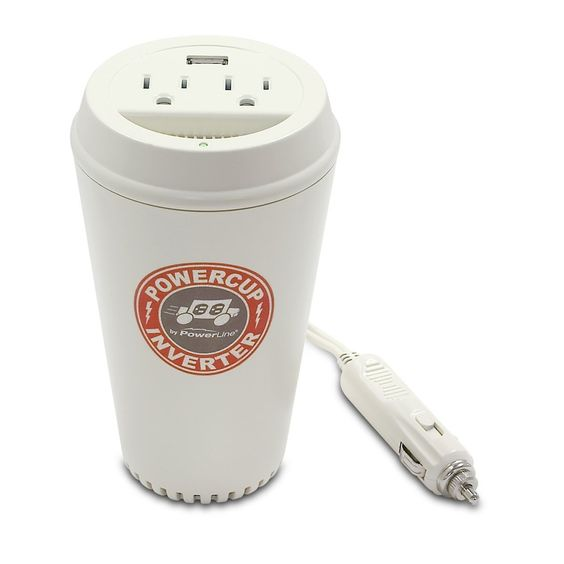 powerline powercup mobile inverter with usb port.