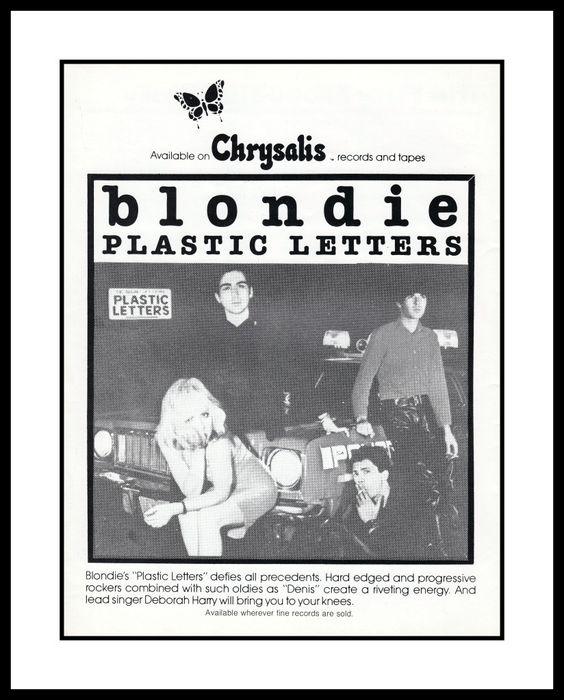 blondie photos 1978 | Ainda em 1978, a banda de Deborah Harry lançou seu terceiro álbum ...