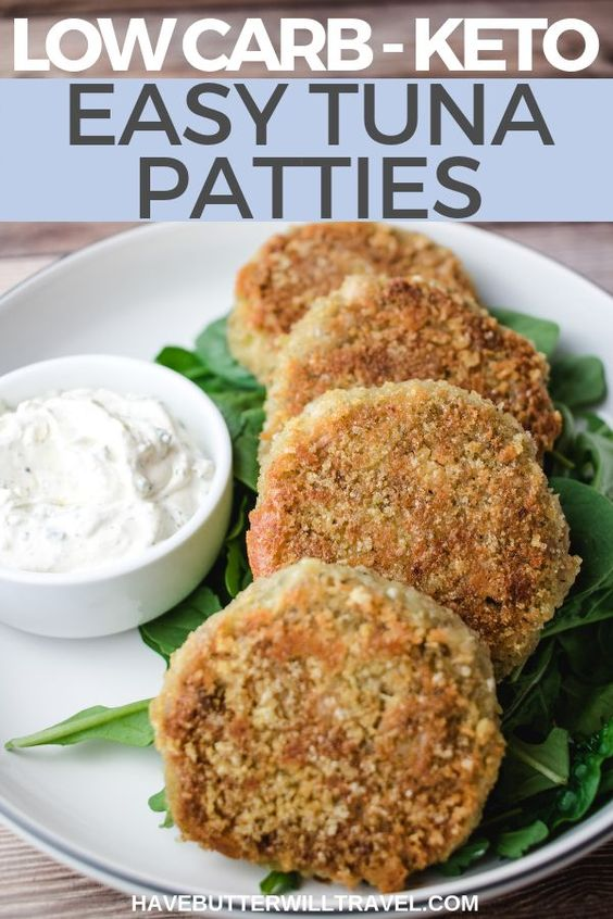 cheap Keto Tuna Patties recipe