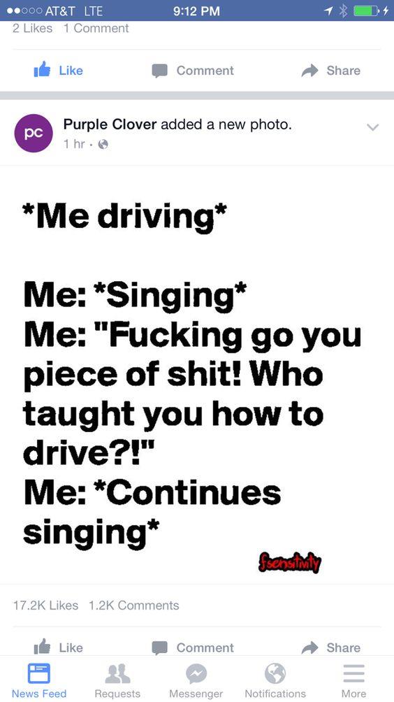 Road rage humor