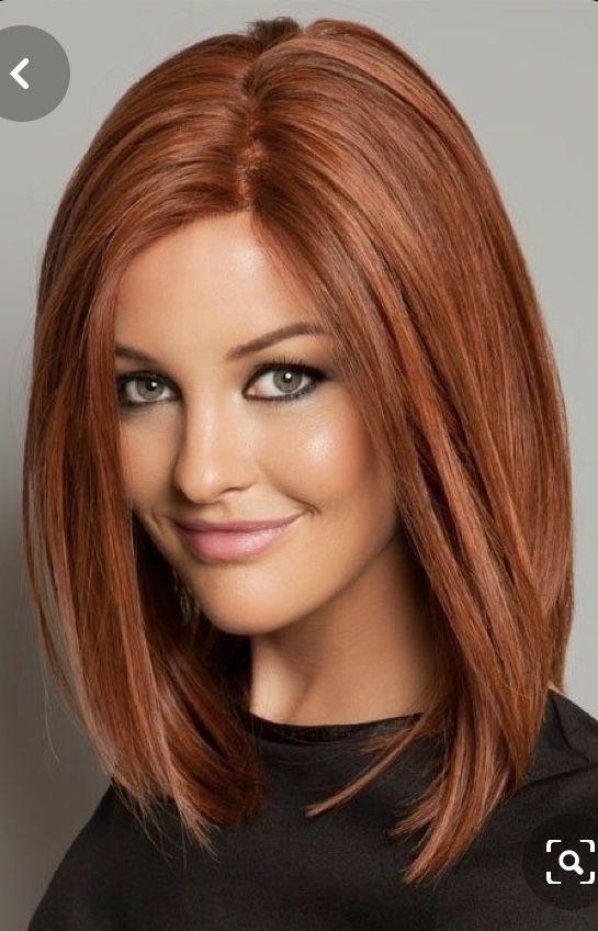 Pin Von Claudia Jungwirth Auf Hair Frisuren Lange Haare Rot Frisur Rote Haare Long Bob Rote Haare