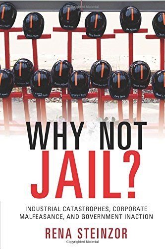 Why Not Jail?: Industrial Catastrophes, Corporate Malfeasance, and Government Inaction by Rena Steinzor http://smile.amazon.com/dp/110763394X/ref=cm_sw_r_pi_dp_bceNub186X87Z