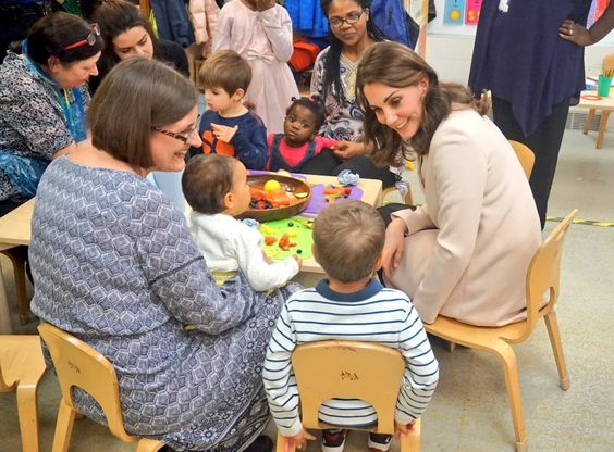 Family Action visit by the Duchess of Cambridge