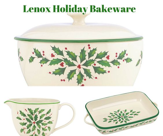 Lenox Holiday Bakeware