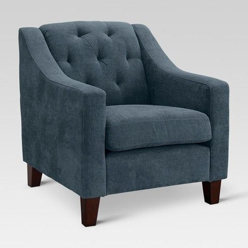 Felton Tufted Chair Threshold Target Tufted Chair Modern
