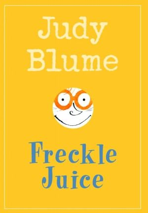 Andrew Marcus wanted freckles. Nicky Lane had freckles. He had about a million of them. They covered his face, his ears and the back of his neck. Andrew didn't have any freckles. He had two warts on his finger. But they didn't do him any good at all.  (judy blume, freckle juice)