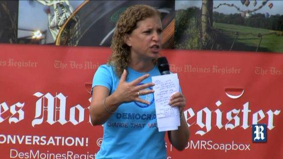 Wasserman Schultz: 'Anchor baby' term is 'vulgar'