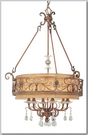 Heirloom Medium Transitional Chandelier - Available at GrandLight.com