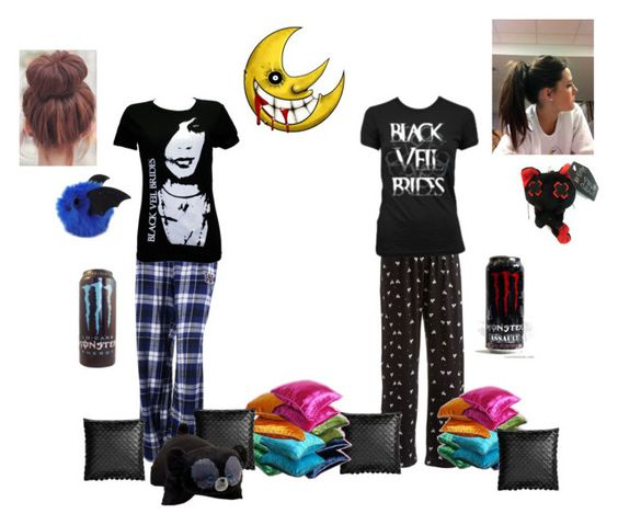 """Sleepover with Fay"" by ace-frehley101 ❤ liked on Polyvore featuring Hue, GURU, H&M and Merida"