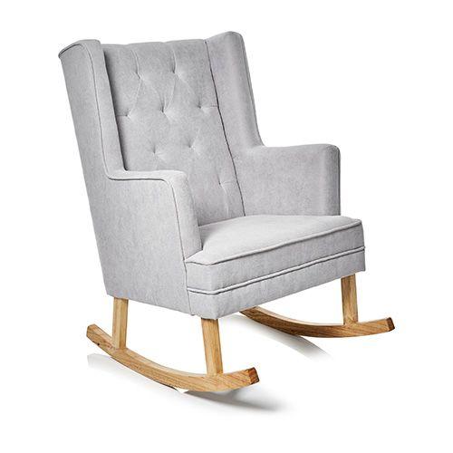 Baby Grey Rocking Chair