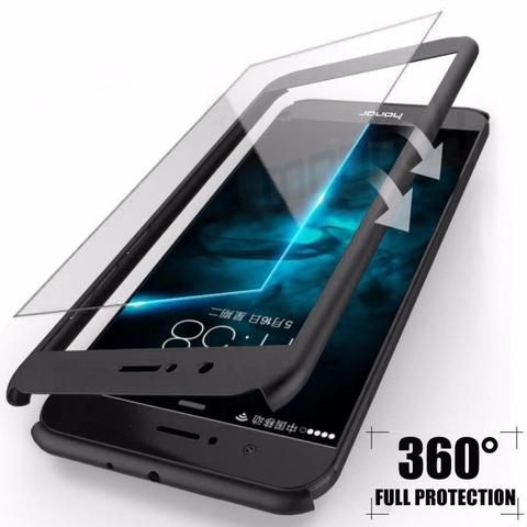 360 Degree Full Cover Cases For Huawei P10 P9 Lite Plus Case With Tempered Glass Phone Cover For Huawei P9 P10 Lite Case Phone Covers Case Cover Case