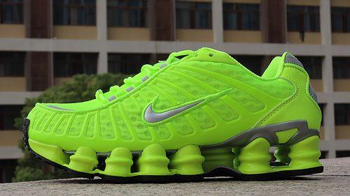 loto latín boxeo  Nike Shox TL Fluorescent Green Men's Running Shoes | Mens nike shox, Nike  shox, Nike shox for women