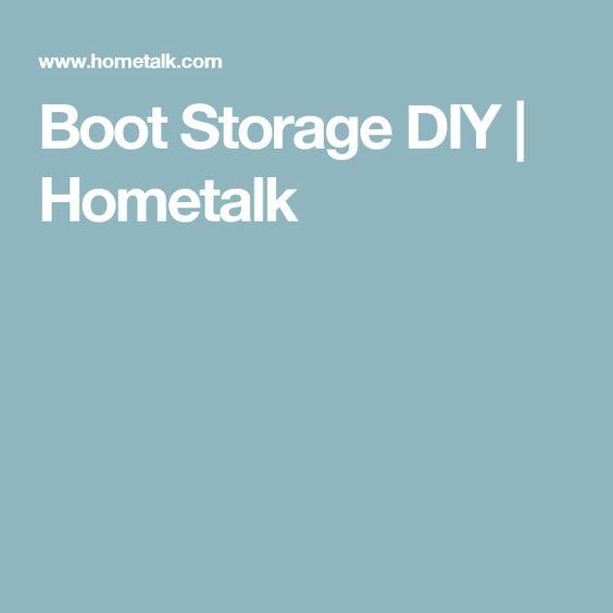 Boot Storage DIY | Hometalk
