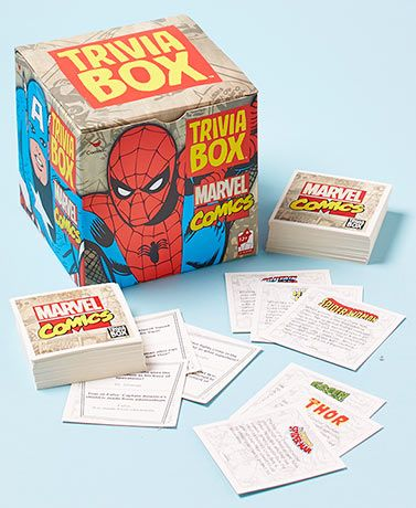 Done- Grandma Marvel Trivia Box