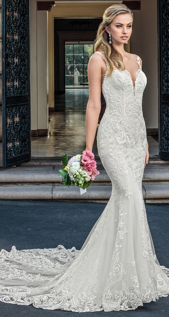 The Spring 2018 Casablanca Bridal Collection is All Kinds of Gorgeous