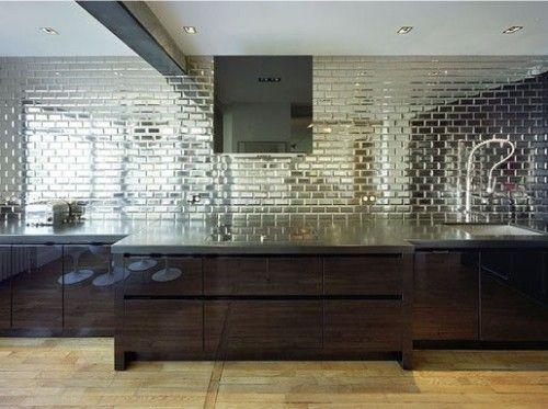 Mirror Tiles Kitchen Backsplash - Mirror Backsplash Tiles & Mirror Or Glass Backsplash The Glass