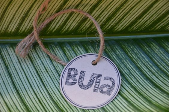 Bula Fiji Wedding Favour Tags by WanderlustWeddings on Etsy, $5.00