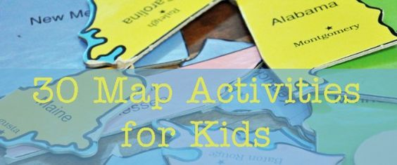 30 Geography Activities for Kids