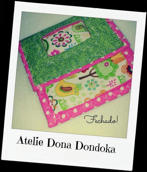 Ateliê Dona Dondoka: Porta Carregador de Celular