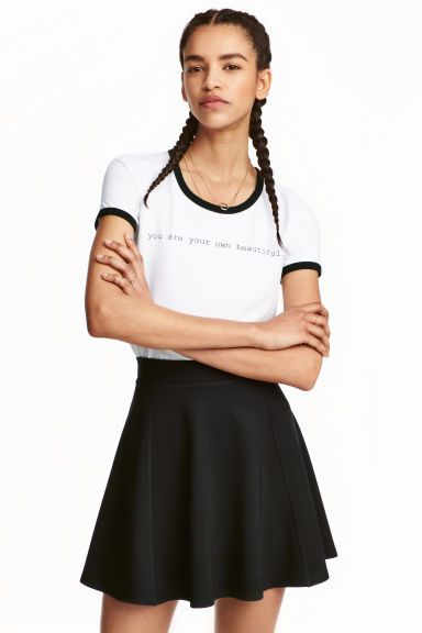 Circular skirt | H&M