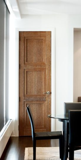 modern wood boards entry door - Google Search