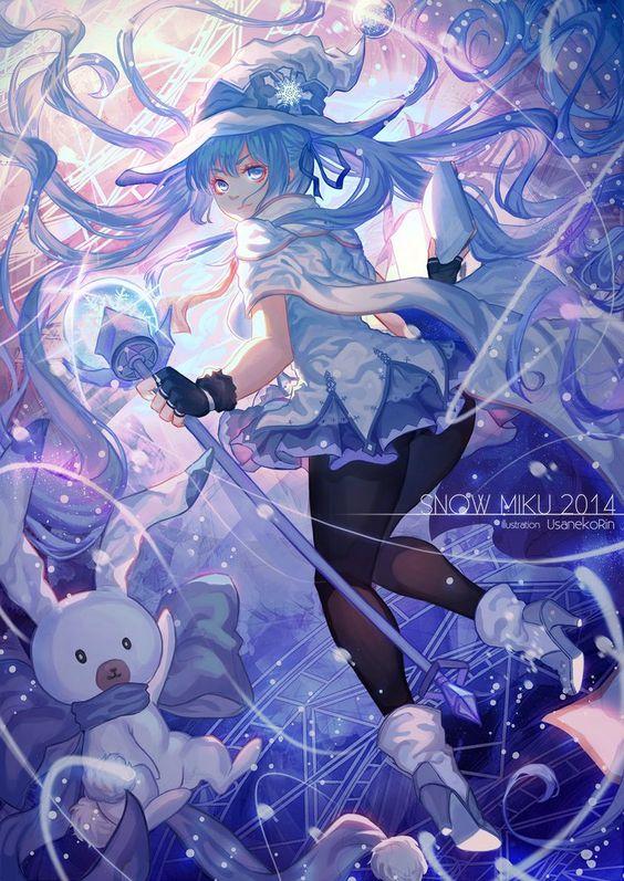 Snow Miku 2014 by 0bakasan on DeviantArt