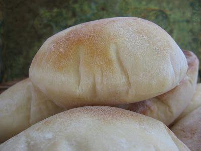 Wimbush Family Pita Bread  1 tablespoon yeast 1 ¼ cup warm water 1 teaspoon salt 3- 3 ½ cups flour