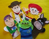 Toy Story- felt hand puppets Also has super heros and fairy tale sets (not all in stock right now)