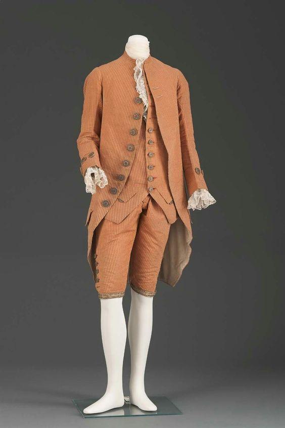 Suit 1770-1790 The Museum of Fine Arts, Boston