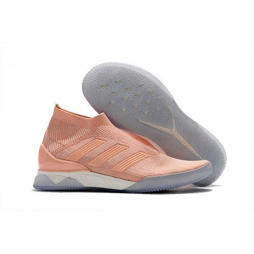 High Quality Authenti Adidas PP Predator Tango 18 TR Pink Soccer Cleats 39-45 Adidas Predator 18+ With Cheap Pirce Sale Online
